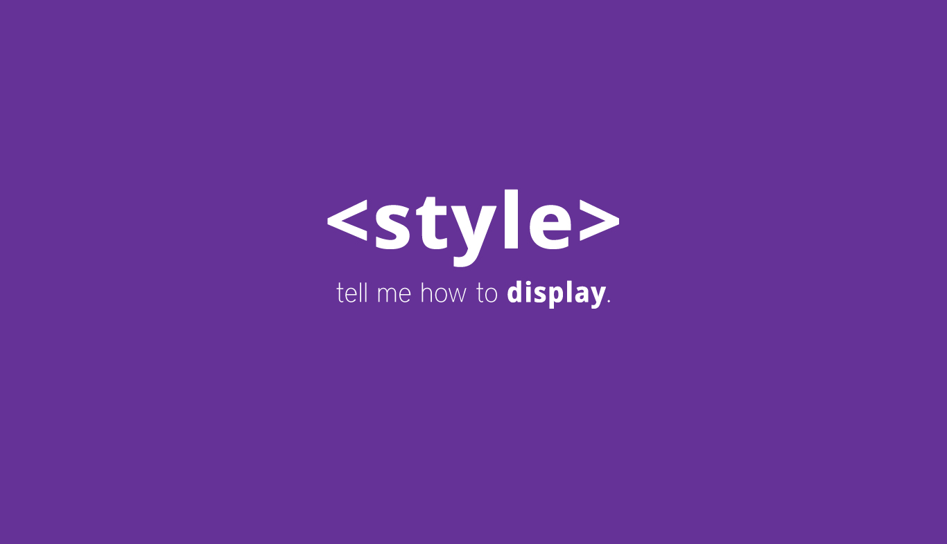 STYLE Tag in HTML