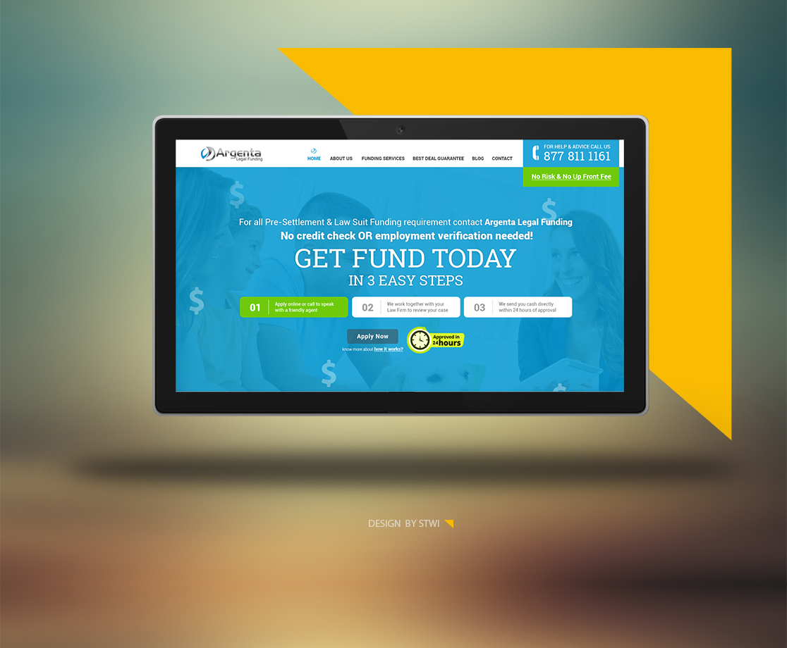Website Design Ahmedabad - Argenta Legal Funding