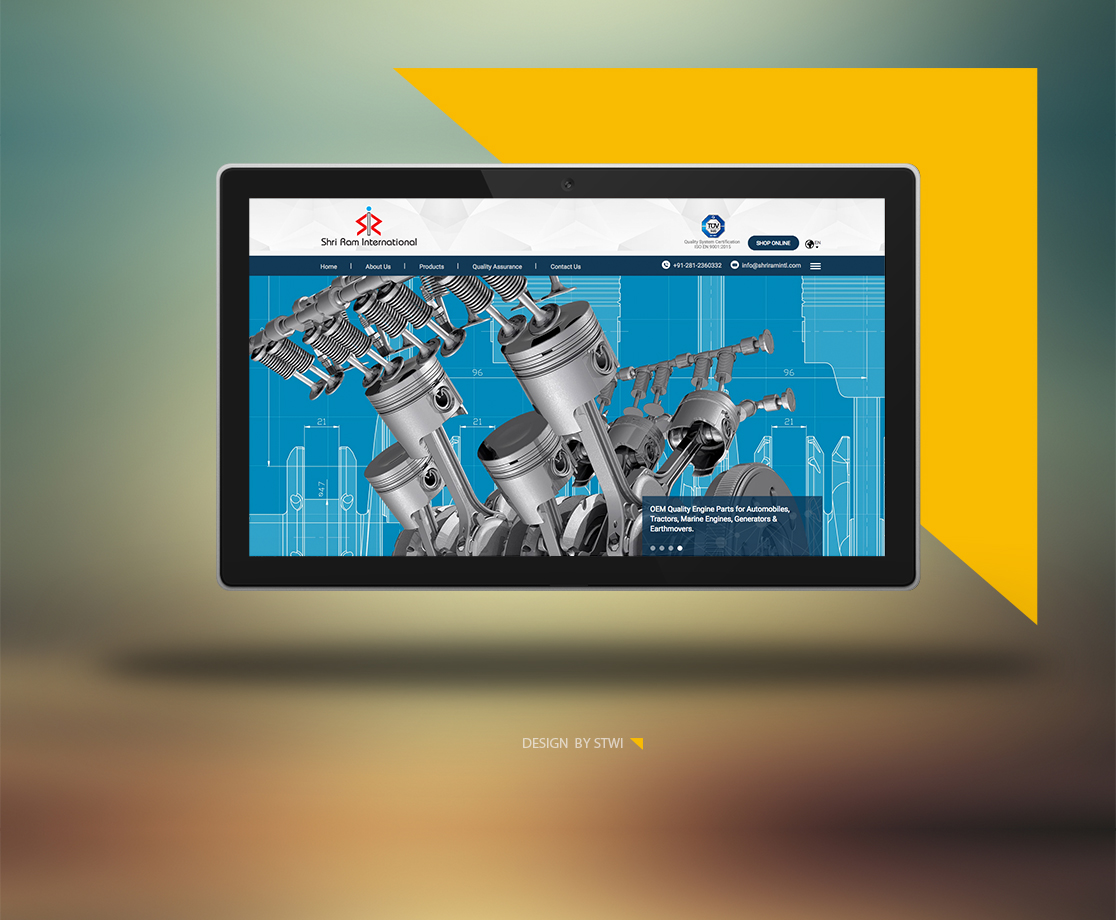 Website Design Ahmedabad - Shriraminternational